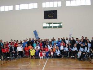 Bedensel Engelliler Badminton'da Konya şampiyon