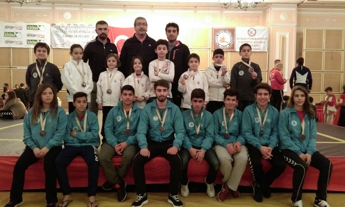 Wushu takımı Antalya yolcusu