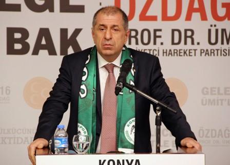 Özdağ Konya'da partililerle buluştu