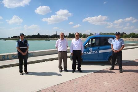 Beyşehir'e yeni zabıta aracı