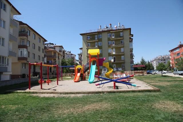 Seydişehir'de mahallere yeni parklar