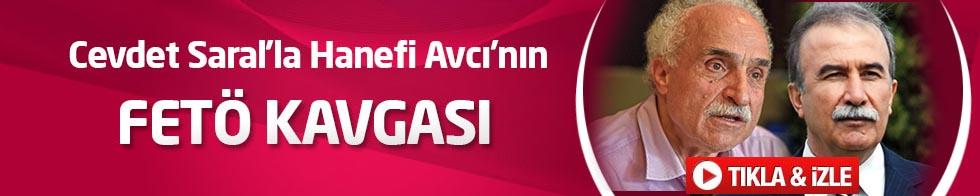 Cevdet Saral'la Hanefi Avcı'nın FETÖ kavgası