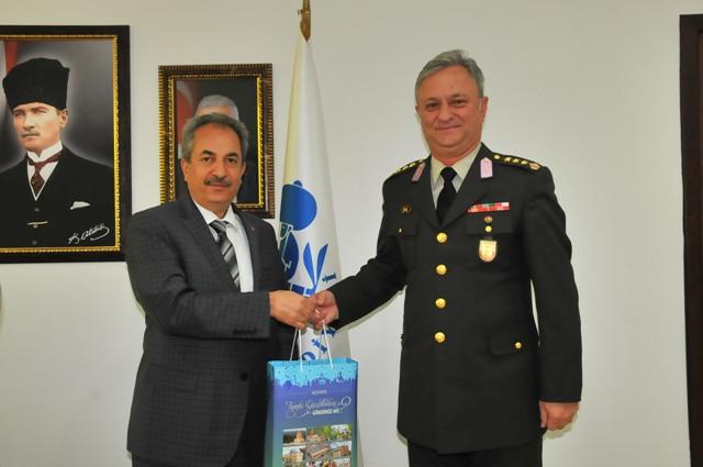 Albay Canol, Başkan Akkaya'yla vedalaştı