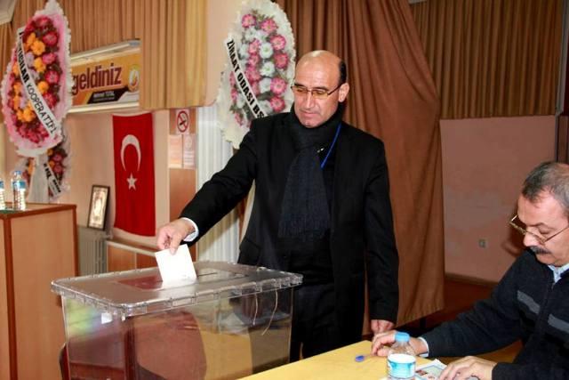 Sulama Birliği Başkanlığına Gökçe yeniden seçildi