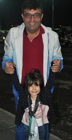 Baba Kız Konyaspor Maçında