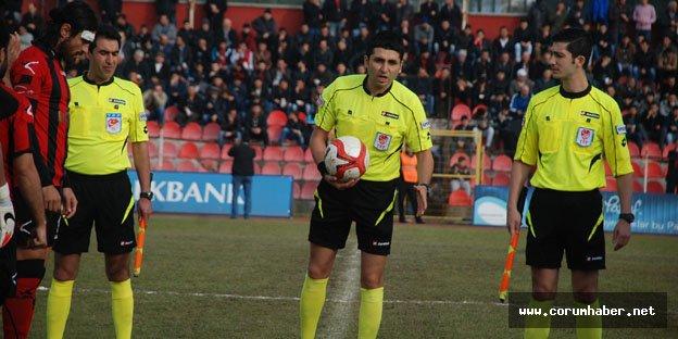 Anadolu'nun maçını Veli Karakaya yönetecek