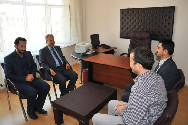 Başkan Akkaya'dan din görevlilerine ziyaret