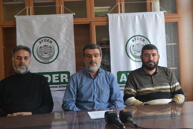 AYDER'den Halep açıklaması