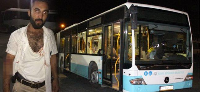 Otobüs şoförünü bıçaklayan baba oğul serbest