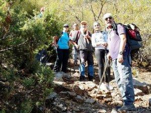 Konyalı dağcılar Hasan dağı zirvesinde