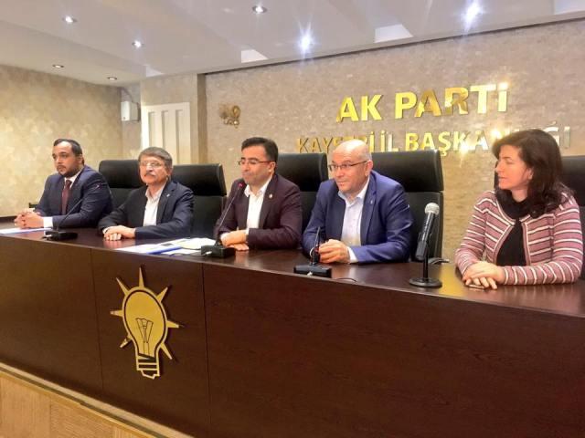AK Parti Milletvekili Ünal Yahyalı'da