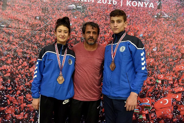 Selçuklu Tekvando'da 2 Madalya Kazandı