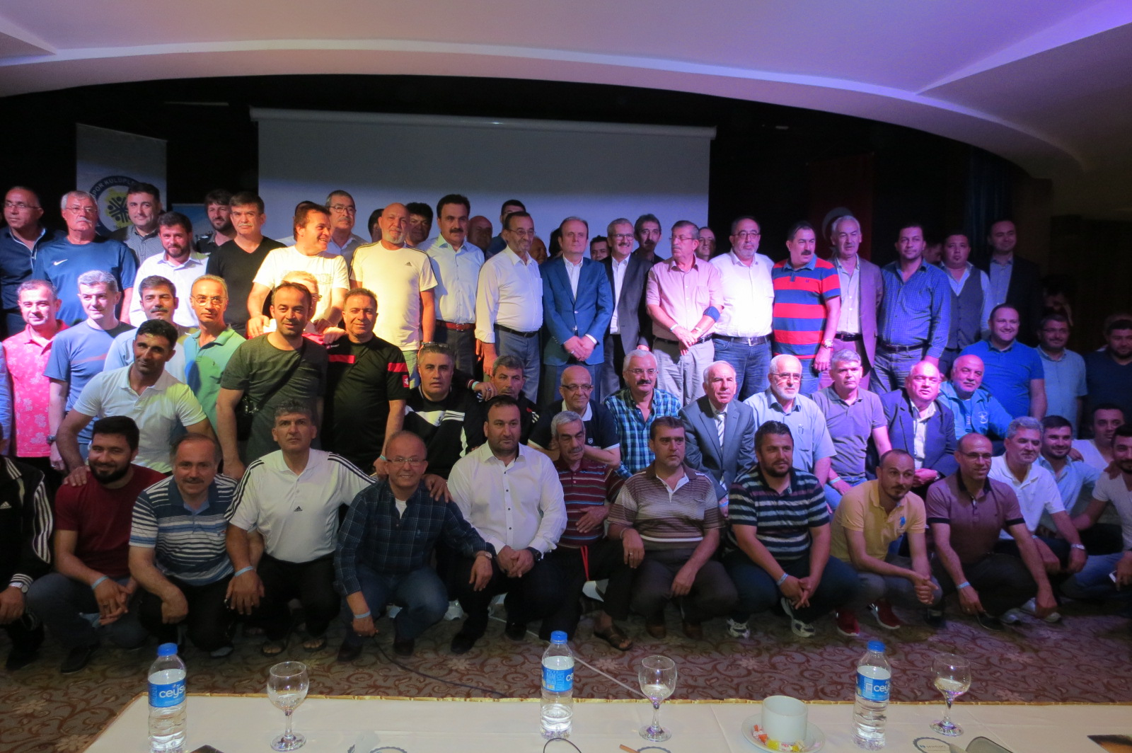 Konya ASKF, başkanları topladı
