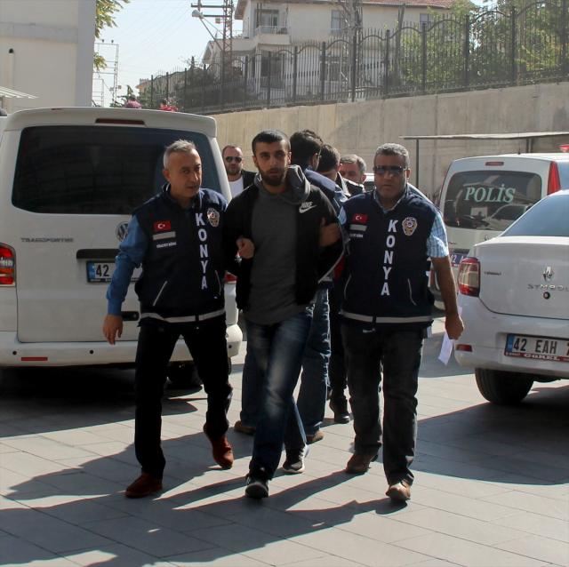Konya'daki cinayet zanlıları tutuklandı