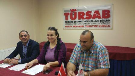 TÜRSAB'da  enformasyon memurluğu sınavı yapıldı