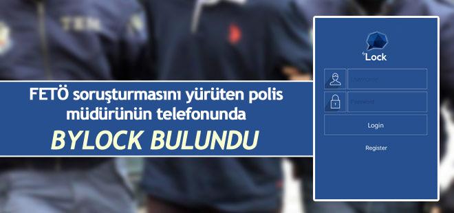 FETÖ soruşturmasını yürüten polis müdüründe ByLock çıktı