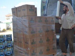 AYDER Suriye'ye 140. aracını gönderdi