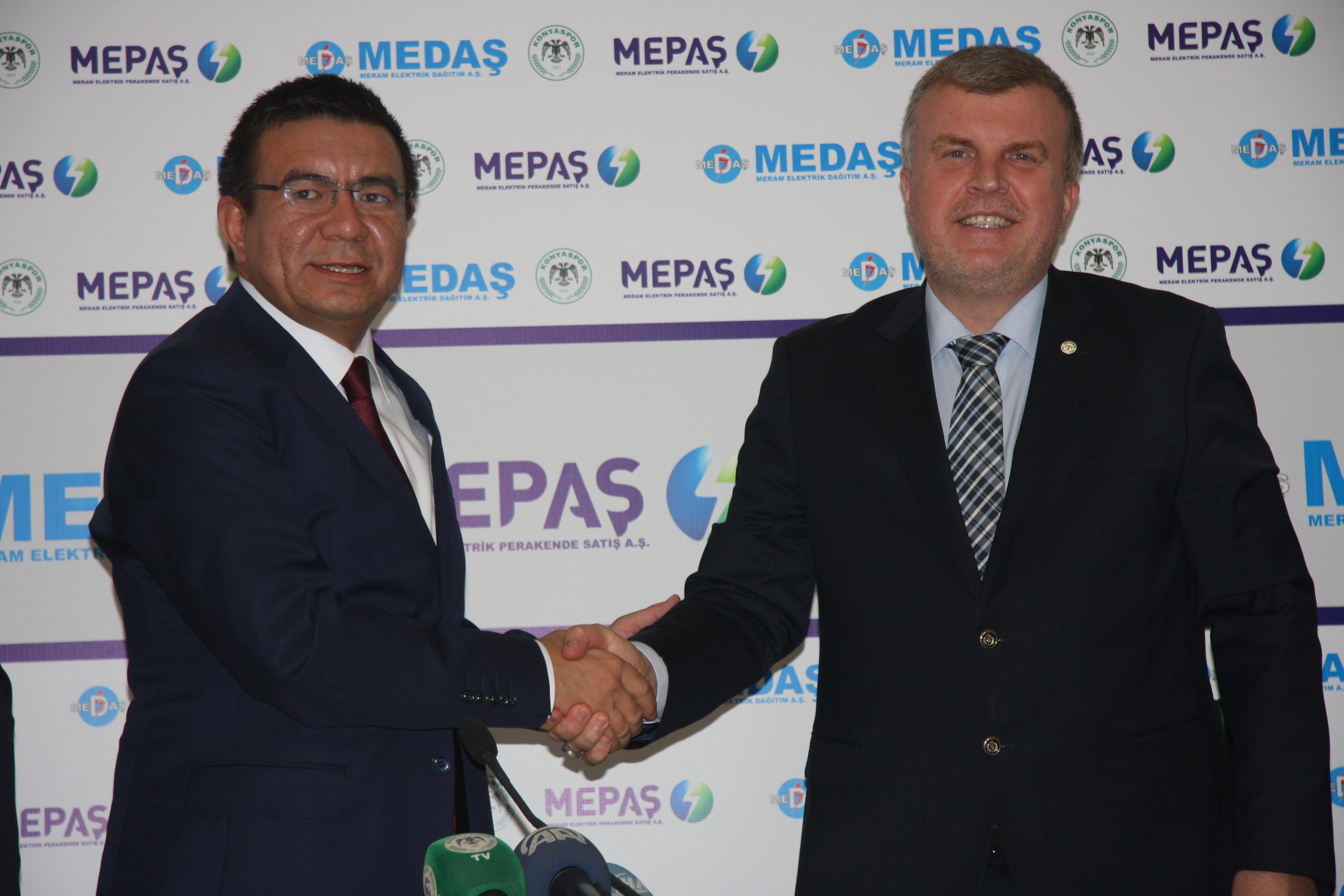 MEPAŞ, Konyaspor'a sponsor oldu