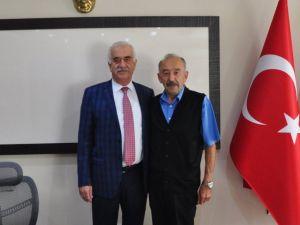 Yozgatlılar Derneği Frankfurt Başkanı Gedikoğlu'dan, Başkan Ağaoğlu'na ziyeret
