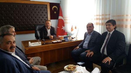 Konurer'den STK başkanlarına ziyaret