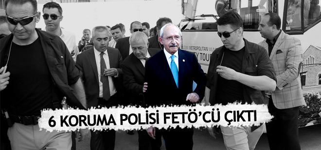 Kılıçdaroğlu'nun 6 koruması FETÖ'cü çıktı