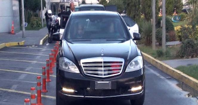 İsrail Enerji Bakanı Yuval Steinitz İstanbul'a geldi