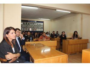 Yüksekokul öğrencileri, Avanos Belediyesini ziyaret etti