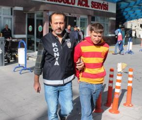 Konya'da Satırlı Gasp İddiası