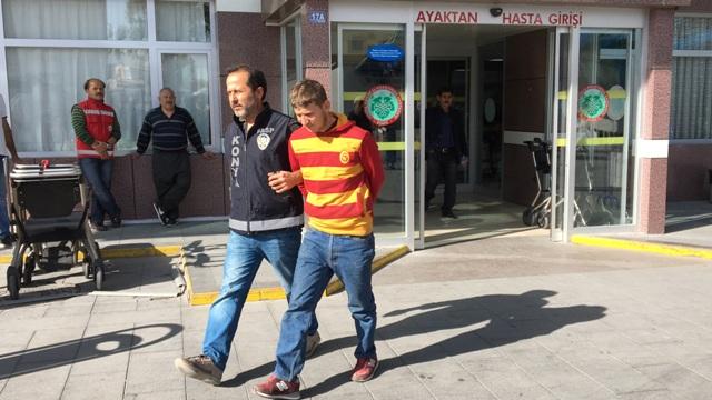 Konya'da satırlı gasp iddiası