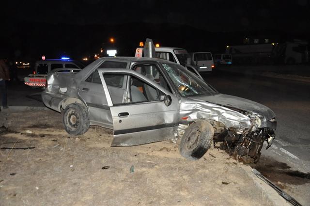 Kavşaktaki kazada 1 kişi öldü