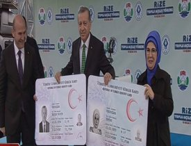 Cumhurbaşkanı Erdoğan'a yeni kimlik!