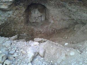 Konya'da Roma dönemine ait mezar bulundu