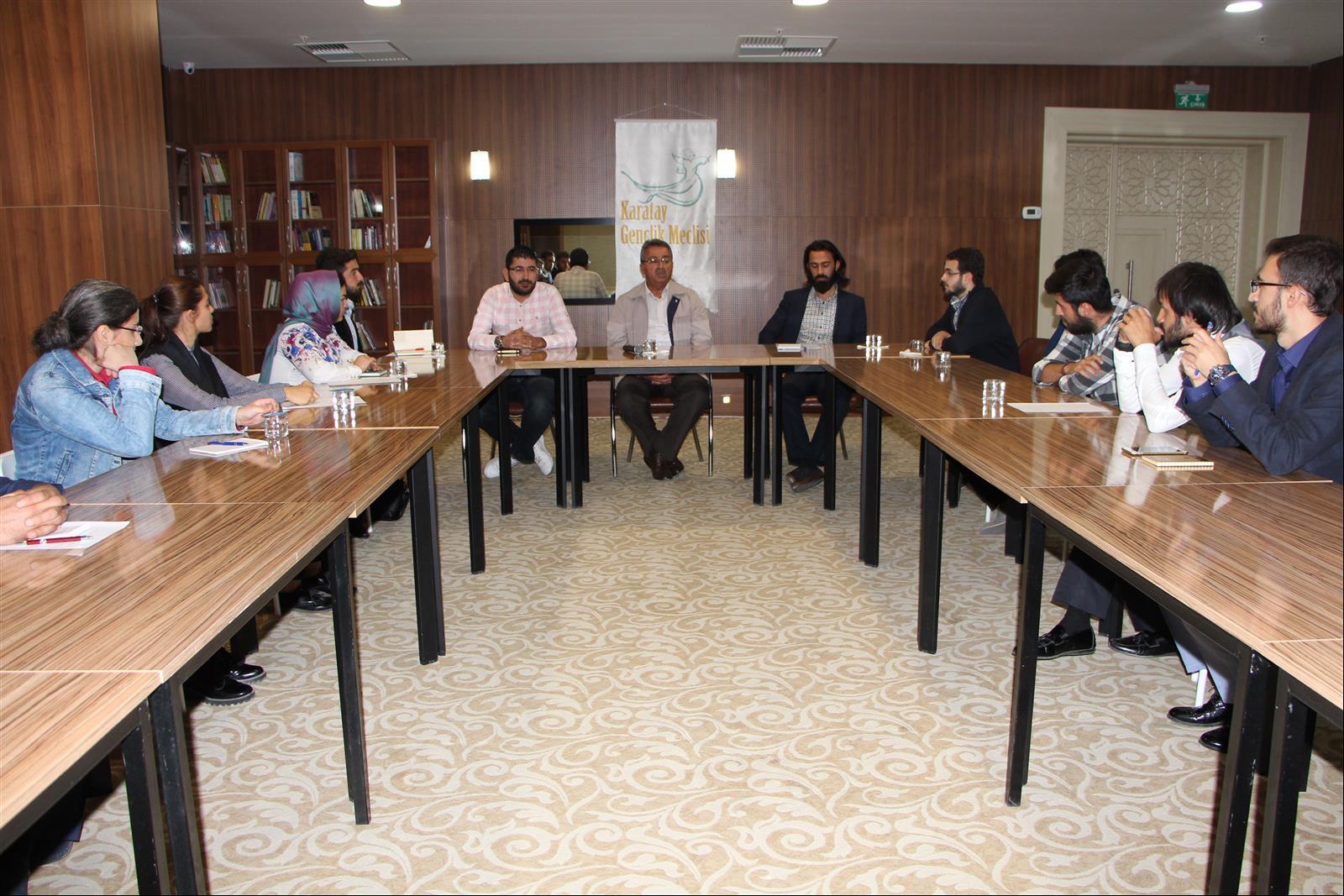 Gençlik Meclisi Yönetim Kurulu Toplantısı Yapıldı