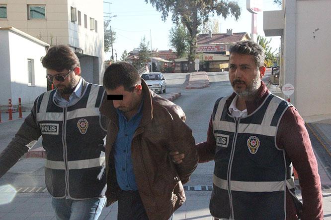 Konya'da Ağabeyini öldüren zanlı tutuklandı
