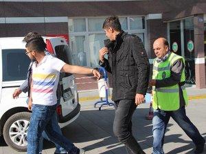 Konya'da aralarında husumet bulunan teyzesinin evine hırsız gönderdi