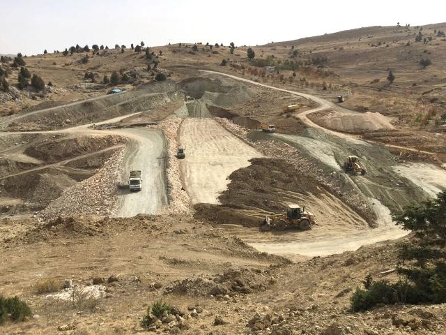 Taşkent Balcılar Göleti İnşaatında sona yaklaşıldı