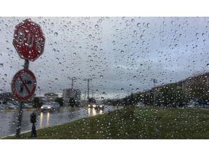 Trakya'da yağış