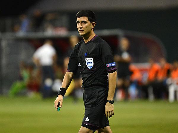 Braga maçını Azeri hakem yönetecek