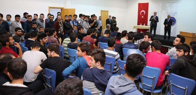 Altay'dan öğrencilere ziyaret