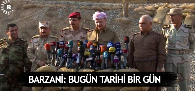 Barzani: Musul'un Halep gibi olmasına izin vermeyeceğiz