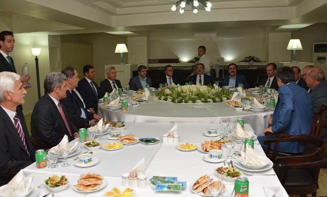 Rektör Şahin, Oda başkanlarına projeleri anlattı
