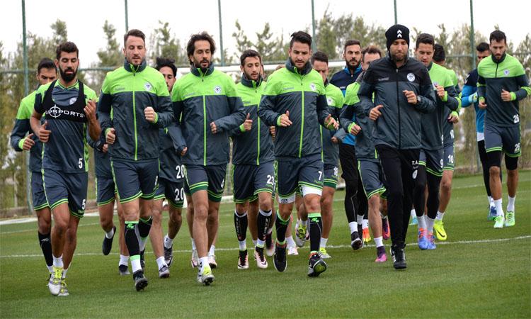 Konyaspor'da Braga mesaisi başladı