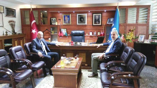 Milletvekili Kaleli'den Altınay'a ziyaret