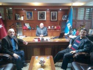 Oda başkanlarından Altınay'a ziyaret