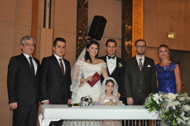 Begüm ve Erhan Evlendi