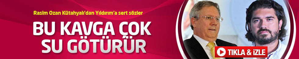 Rasim Ozan Kütahyalı'dan Aziz Yıldırım'a Beyaz Futbol'da cevap TIKLA&İZLE
