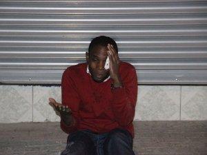 Konya'da Uganda vatandaşına darp edildi