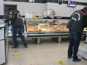 Konya'da kasapta  silahlı kavga