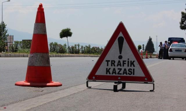 Karapınar'da trafik kazası: 1 ölü, 2 yaralı