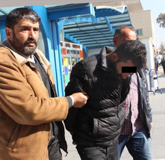 Konya'da 3 kişiyi gasp eden zanlı tutuklandı